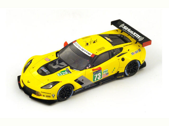 1/43 Chevrolet Corvette C7.R Spark S4227  ~ top view ~ taken by DiecastBase