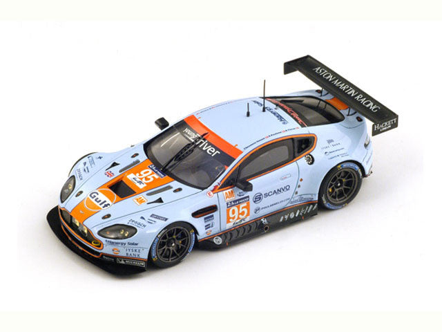 1/43 Aston Martin V8 Vantage GTE Spark S4238  ~ top view ~ taken by DiecastBase