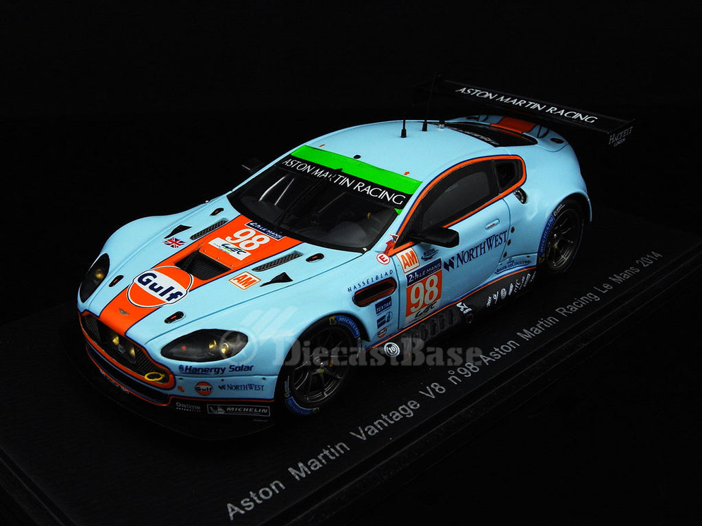 Spark S4239 1/43 Aston Martin V8 Vantage GTE #98 26th Le Mans 6th LMGTE Am 2014 Aston Martin Racing - Paul Dalla Lana - Pedro Lamy - Christoffer Nygaard Spark Model Resin Model LM Racing Car
