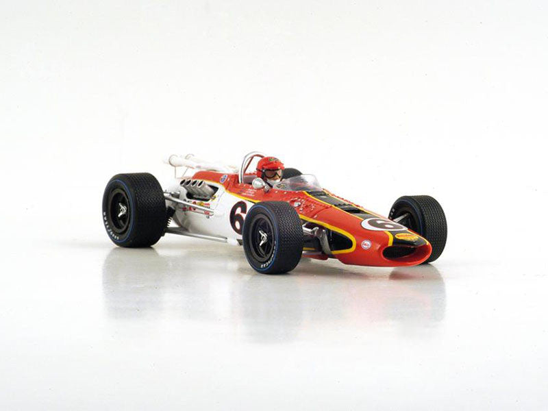 Spark S4257 1/43 Eagle Mk3 No.6 Indianapolis 500 1967 Bobby Unser Resin Model Indy Racing Car
