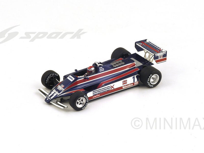 1/43 Lotus 81 Spark S4285 Model Racing Car ~ top view ~ taken by DiecastBase