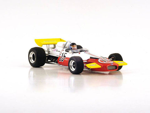 Spark S4339 1/43 Brabham BT33 #15 South African Grand Prix 1971 Brabham Racing Organisation - Dave Charlton Resin Model Racing Car