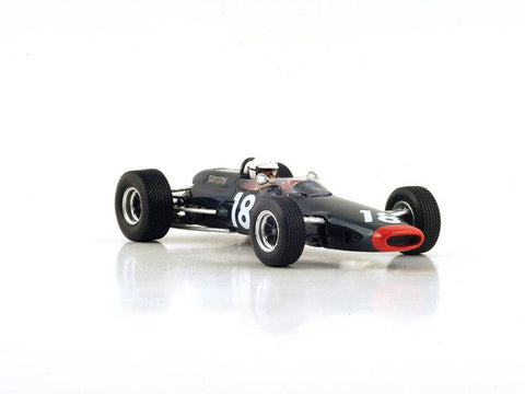 Spark S4480 1/43 Lotus 25 BRM #18 7th Dutch Grand Prix 1967 Reg Parnell Motor Racing - Chris Irwin Resin Model Racing Car