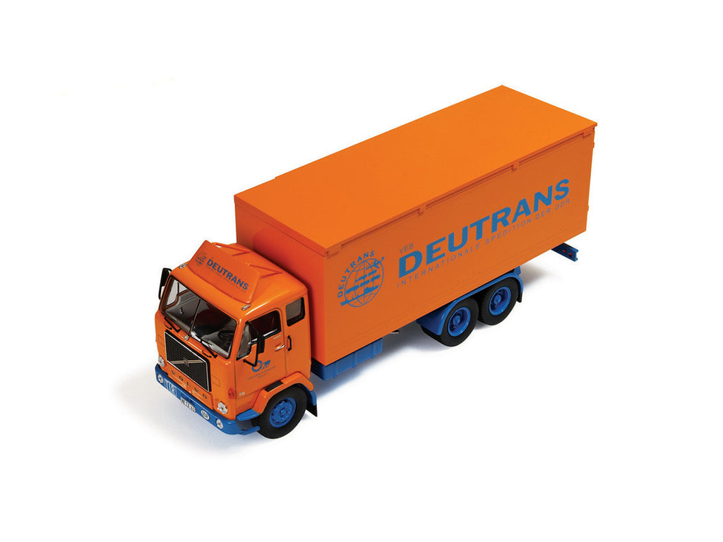 IXO TRU013 1/43 Volvo F88 1969 Deutrans Internationale Spedition IXO Models Diecast Model Truck Road Car
