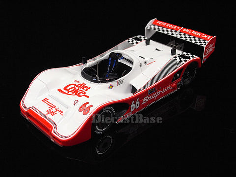 TSM TSM114303 1/43 Porsche 966 No.66 12 Hours of Sebring 1993 Snap-On Diet Coke Aase - Carradine - Cochran - Hanauer 1:43 TrueScale Miniatures Model Diecast Model Racing Car