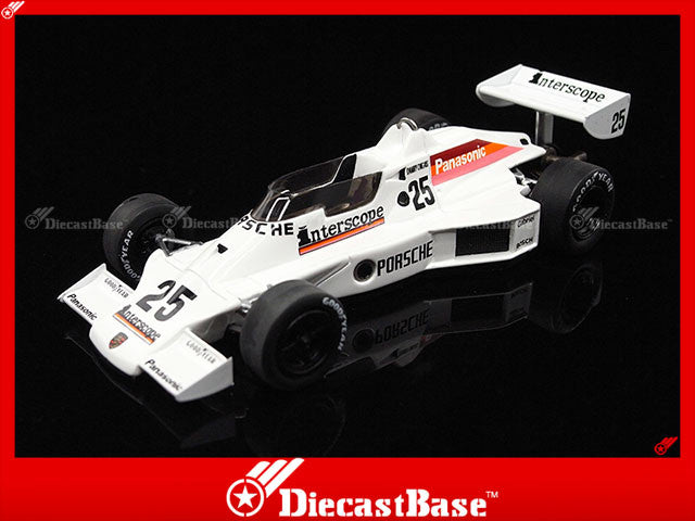TSM TSM114307 1/43 Porsche Type 940 Interscope Racing No.25 Indy 500 1980 Danny Ongais Panasonic 1:43 TrueScale Miniatures Model Diecast Model Racing Car