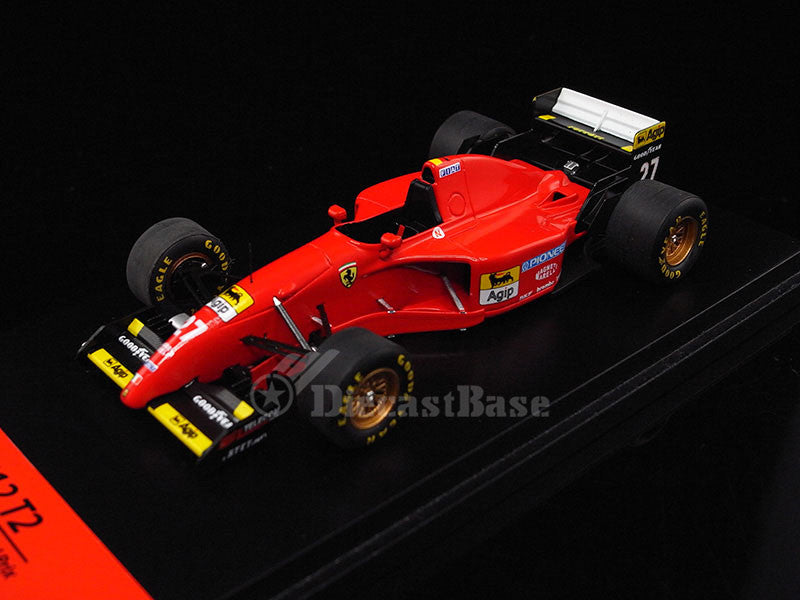 Fujimi TSM11FJ012 1/43 Ferrari 412 T2 No.27 Canadian Grand Prix Winner F1 1995 Ferrari Team Jean Alesi TSM Model Resin Formula One GP Racing Car