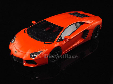 Fujimi TSM11FJ013 1/43 Lamborghini Aventador LP 700-4 Arancio Argos (Pearl Orange) TSM Model Road Car