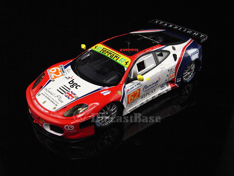 Fujimi TSM11FJ026 1/43 Ferrari F430 GTE No.62 24 Hours of Le Mans 2011 LMGTE Am Class CRS Racing Team Pierre Ehret - Roger Wills - Shaun Lynn TSM Model LM Resin Racing Car