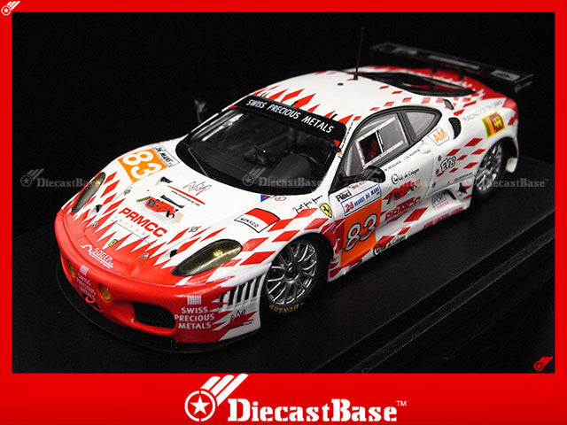 Fujimi TSM11FJ027 1/43 Ferrari F430 GTC JMB Racing No.83 Le Mans 2011 24 HEURES DU MANS - M.Rodrigues - J-M.Menahem - N.Marroc 1:43 TSM Model LM Resin Racing Car