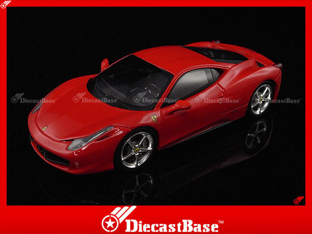 Fujimi TSM11FJ029 1/43 Ferrari 458 Italia 2010 Rosso Corsa Red 1:43 TSM Model Resin Road Car Hong Kong Limited Edition