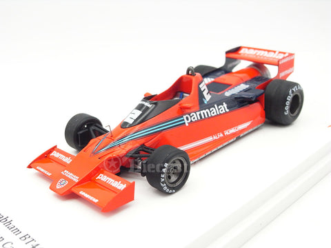 TSM TSM124304 1/43 Alfa Brabham BT46B Fan Car No.2 Swedish Grand Prix 1978 Brabham-Alfa Romeo Team John Watson TrueScale Miniatures Resin Model Racing Car GP F1 Formula One