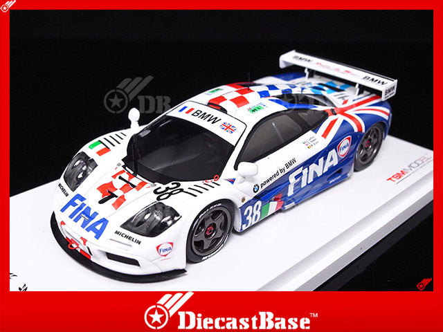 TSM TSM124335 1/43 McLaren F1 GTR #38 Team Bigazzi SRL & BMW Motorsport 11th 24 Hours of Le Mans 1996 Jacques Laffite - Steve Soper - Marc Duez TrueScale Miniatures Diecast Model Racing Car