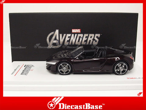 TSM TSM124384 1/43 Marvel The Avengers Acura NSX Roadster 2012 TrueScale Miniatures Model Resin Road Car