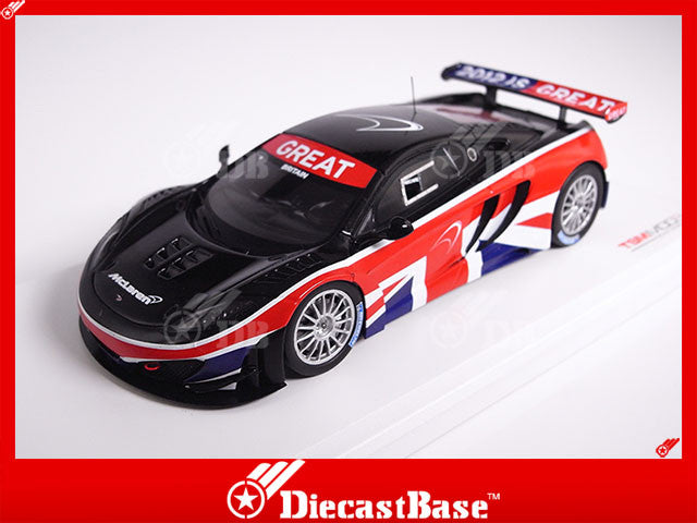 "TSM TSM134325 1/43 McLaren MP4-12C GT3 Goodwood Festival of Speed The ""GREAT"" Campaign 2012 TrueScale Miniatures Diecast Model Racing Car"