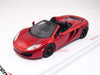 TSM TSM134334 1/43 McLaren MP4-12C Spider 2013 LHD Volcano Red TrueScale Miniatures Diecast Model Road Car