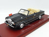 TSM TSM134344 1/43 Rolls-Royce Corniche III Convertible 1993 Japanese Imperial Black TrueScale Miniatures Resin Model Road Car