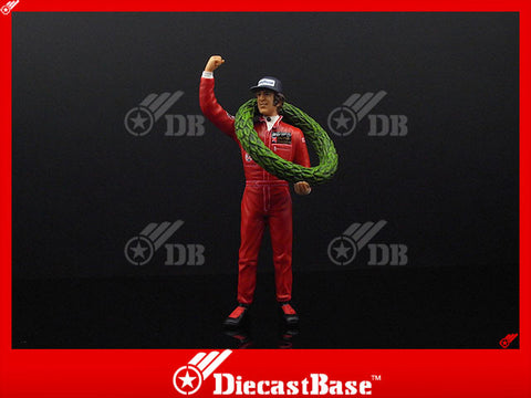 TSM TSM13AC01 1/18 Mario Andretti Type II 1977 French Grand Prix Winner TrueScale Miniatures Model Accessories