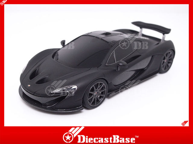 TSM TSM13OEM11 1/43 McLaren MP4-12C Spider 2013 Matte Black TrueScale Miniatures Model Road Car
