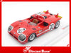 TSM TSM144311 1/43 Alfa Romeo Tipo 33/3 #33 Team Autodelta SpA 2nd Place 12 Hours of Sebring 1971 Nanni Galli - Rolf Stommelen TrueScale Miniatures Diecast Model Racing Car