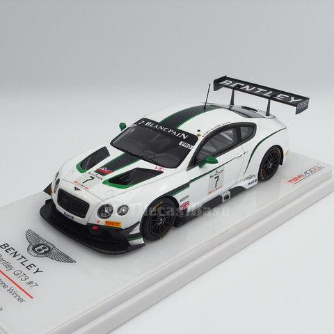 TSM TSM154315 1/43 Bentley GT3 #7 2014 Blancpain GT Silverstone Winner M-Sport Bentley G.Smith - A.Meyrick - S.Kane TrueScale Miniatures Resin Model Racing Car