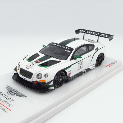 TSM TSM154317 1/43 Bentley GT3 #7 2014 Blancpain GT Winner Paul Ricard M-Sport Bentley G.Smith - A.Meyrich - S.Kane TrueScale Miniatures Resin Model Racing Car