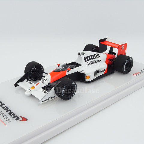 TSM TSM154336 1/43 McLaren MP4/5 #1 Winner German Grand Prix 1989 Honda Marlboro McLaren Team - Ayrton Senna TrueScale Miniatures Resin Model F1 GP Racing Car