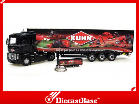 "Universal Hobbies UH5689 1/50 Renault Magnum with Krone ""Kuhn"" Trailer UH Diecast Model Truck"