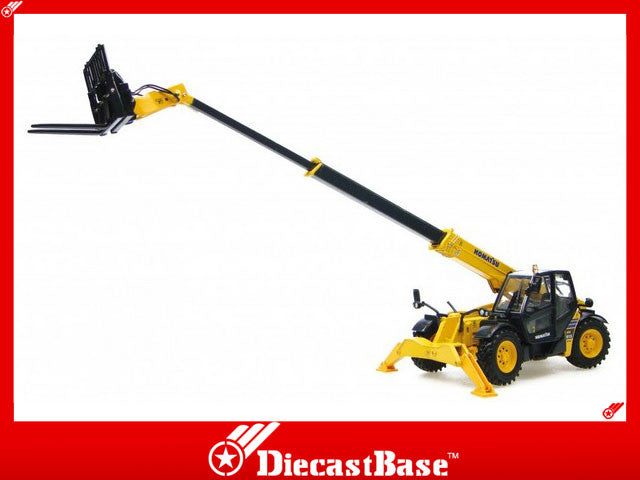 Universal Hobbies UH8002 1/50 Komatsu WH613 Telescopic Handler with fork UH Diecast Model Construction Machine