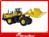 Universal Hobbies UH8008 1/50 Komatsu WA600 Wheel Loader with bucket UH Diecast Model Construction Machine