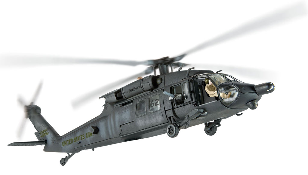 Corgi AA35908C 1/72 Sikorsky MH-60L 'Blackhawk Down' Super-Six Two Operation Gothic Serpent Mogadishu 1993 Diecast Military Helicopter Model