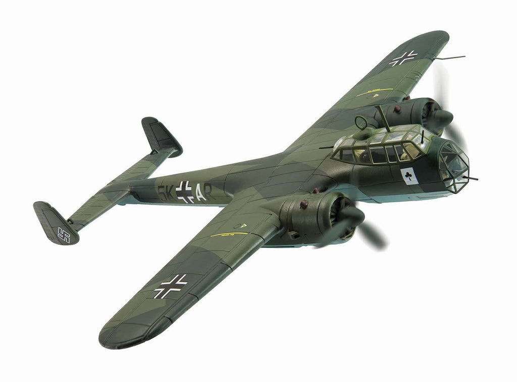 Corgi AA38806 1/72 Dornier Do17 5K+AR August 1940 Diecast Military Propeller Model