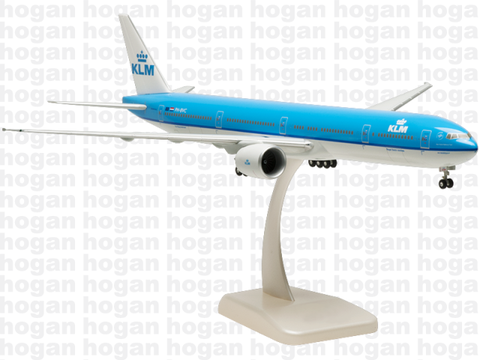 Hogan Wings 0830 1/200 KLM Royal Dutch Airlines KL SkyTeam BOEING 777-300ER Plastic Snap-Fit Model Commercial Aircraft Civil Aviation