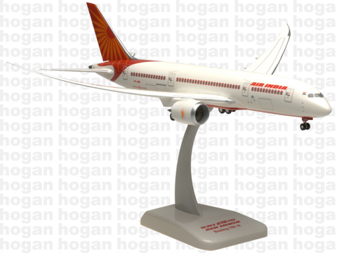 Hogan Wings 0960 1/200 Air India AI AIC AIRINDIA BOEING 787-8 Plastic Snap-Fit Model Commercial Aircraft Civil Aviation