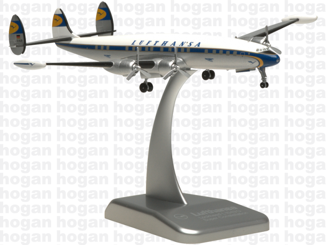 Hogan Wings LH16 1/200 Lufthansa Lockheed L1049G Super Constellation Diecast Model Commercial Aircraft Civil Aviation