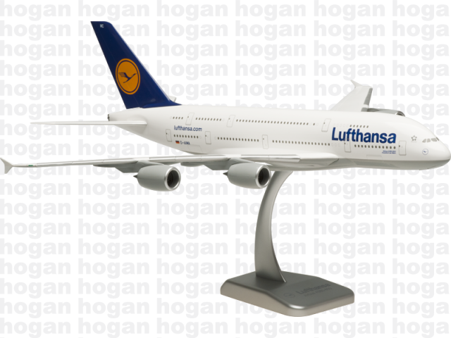 Hogan Wings LH01 1/200 Lufthansa LH DLH AIRBUS A380-800 D-AIMA Frankfurt am Main Plastic Snap-Fit Model Commercial Aircraft Civil Aviation
