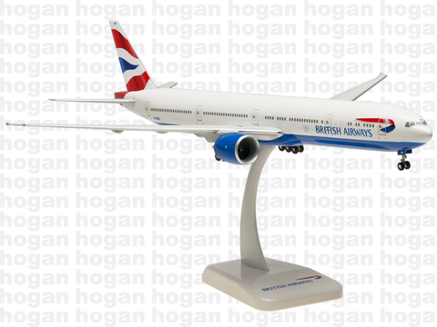 Hogan Wings 0304 1/200 British Airways BA BAW/SHT SHUTTLE BOEING 777-300ER Plastic Snap-Fit Model Commercial Aircraft Civil Aviation