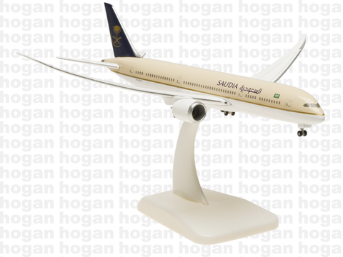 Hogan Wings 5149 1/400 Saudi Arabian Airlines SV SVA SAUDIA BOEING 787-9 (Inflight Configuration) Diecast Model Commercial Aircraft Civil Aviation
