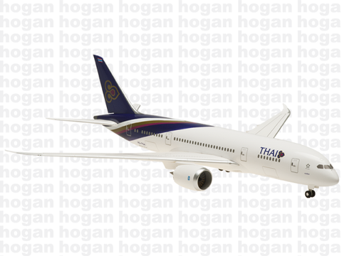 Hogan Wings 0236 1/200 Thai Airways TG THA BOEING 787-8 Plastic Snap-Fit Model Commercial Aircraft Civil Aviation