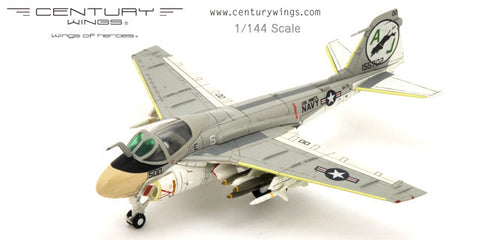 Century Wings 655072 1/144 A-6 A-6E Intruder US Navy VA-35 Black Panthers AJ500 1978 CW Diecast Military Model Aircraft