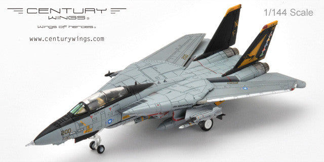 Century Wings 912373 1/144 F-14 F-14A TOMCAT US NAVY VF-21 FREE LANCERS NF200 1995 CW Diecast Model Military Aircraft