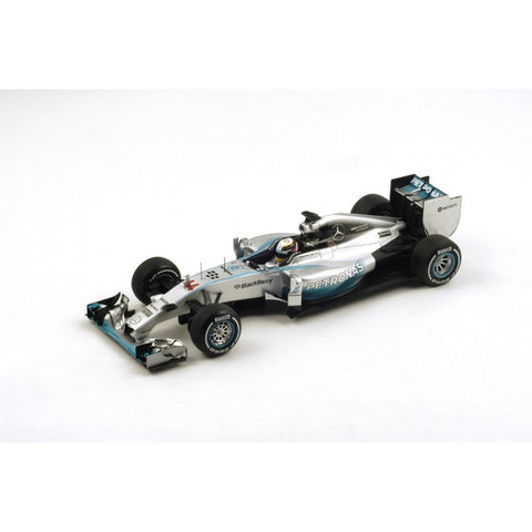 Spark 18S138 1/18 Mercedes F1 W05 No.44 Winner British Grand Prix 2014 Mercedes Team Lewis Hamilton Resin Model F1 GP Racing Car