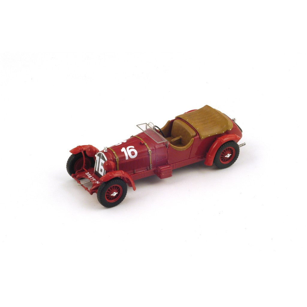 Spark 43LM31 1/43 Alfa Romeo 8C 2300 LM #16 Le Mans 1931 3.0 Class Lord Howe Team Lord Howe - Sir Henry Birkin Spark Models Diecast Model LM Racing Car
