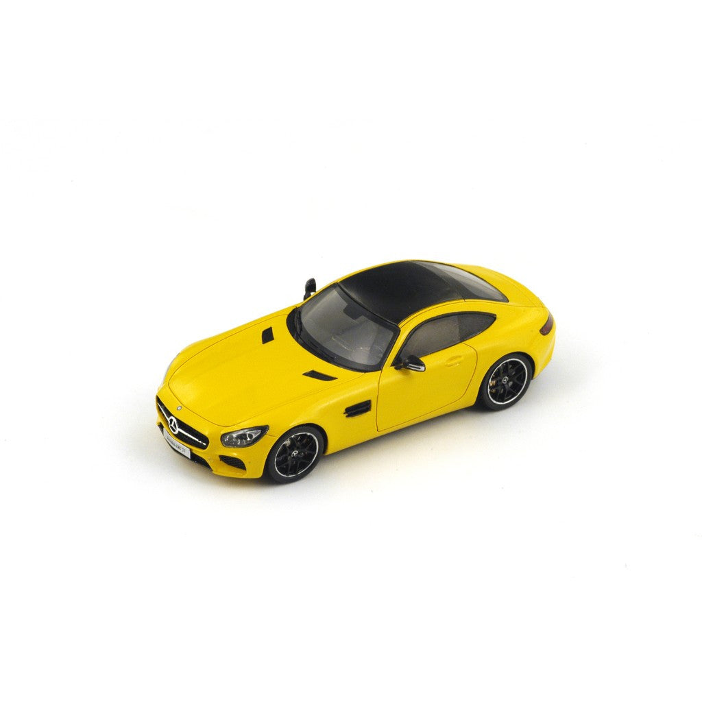 Spark S1072 1/43 Mercedes-Benz GT (Yellow) Resin Model Passenger Road Car