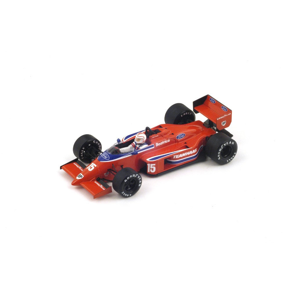 Spark S1788 1/43 Beatrice-Lola THL2 No.15 Lola-Ford Team Belgian Grand Prix 1986 Alan Jones Resin Model F1 GP Racing Car