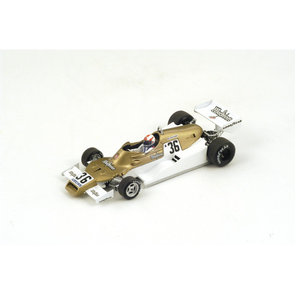 Spark S3901 1/43 Arrows FA1 No.36 9th South African Grand Prix 1978 Arrows-Ford Team Rolf Stommelen Resin Model F1 GP Racing Car