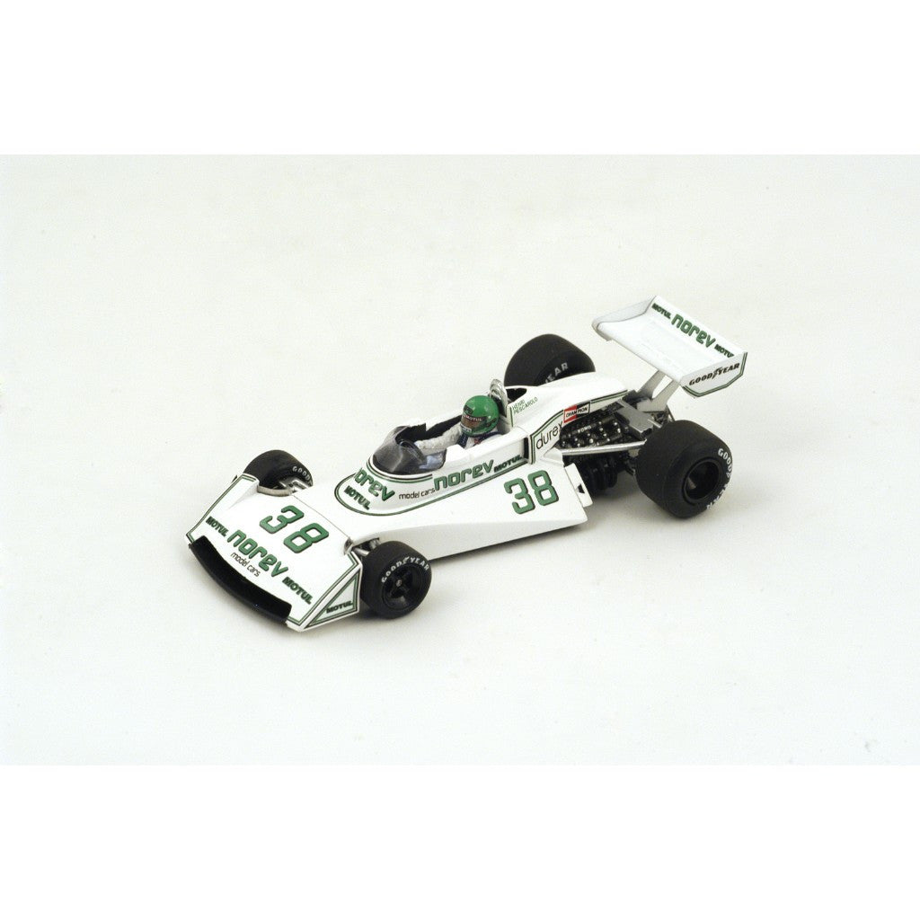Spark S4005 1/43 Surtees TS19 No.38 French Grand Prix 1976 Surtees-Ford Team Henri Pescarolo Resin Model F1 GP Racing Car