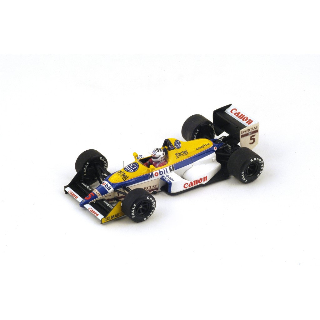 Spark S4029 1/43 Williams FW12 No.5 Italian Grand Prix 1988 Williams-Judd Team Jean-Louis Schlesser Resin Model F1 GP Racing Car