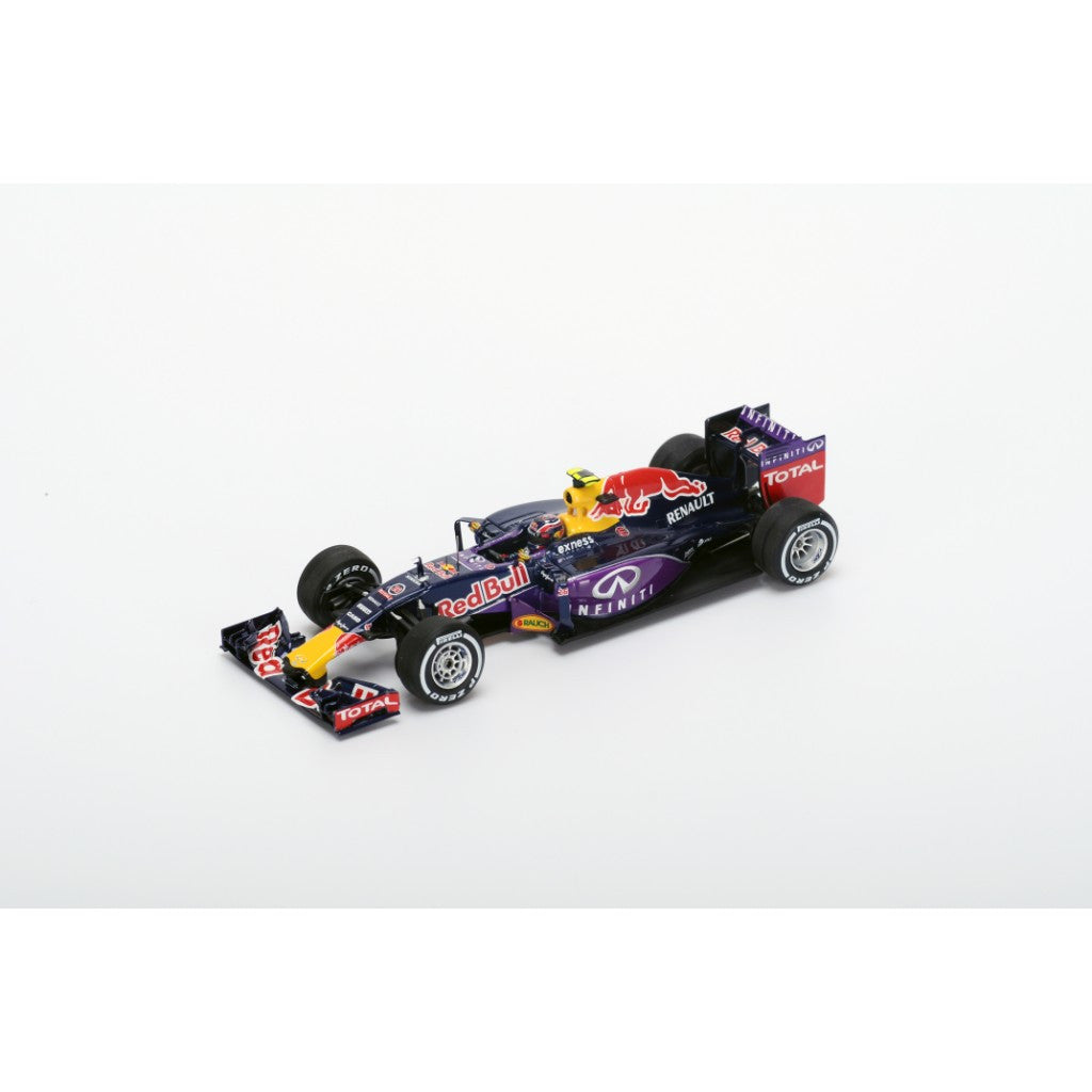 Spark S4605 1/43 Red Bull RB11 #26 2015 Infiniti Red Bull Racing - Daniil Kvyat Resin Model Racing Car