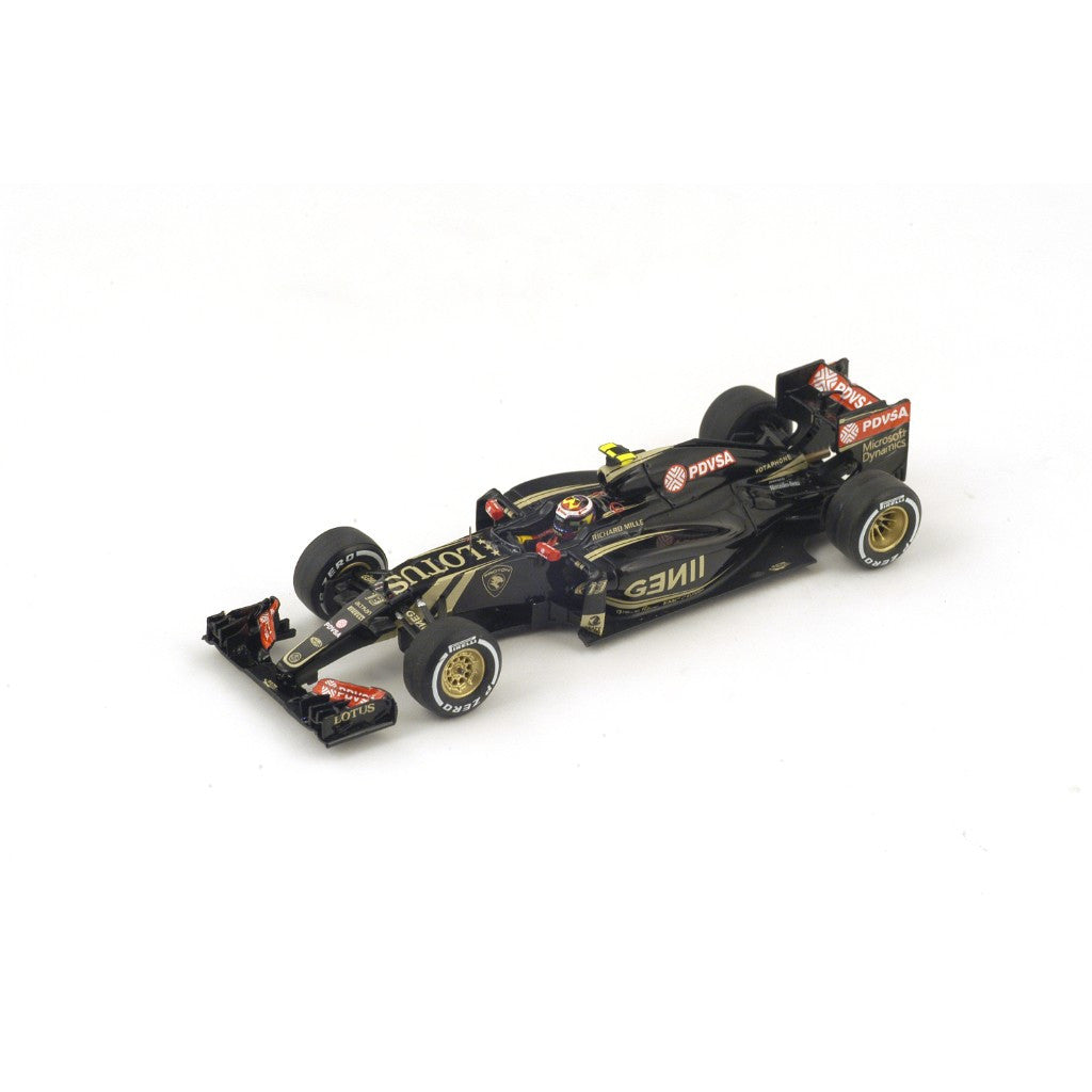 Spark S4607 1/43 Lotus E23 Hybrid #13 2015 Lotus F1 Team - Pastor Maldonado Resin Model Racing Car